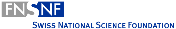 Logo SNSF - Swiss National Science Fund
